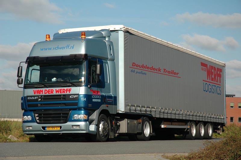 Van Der Werff Logistics, Heerenveen (NL), 2001-2006