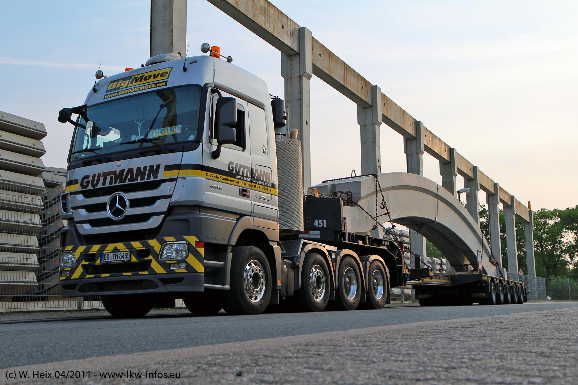 Gutmann Heavy Logistics, Zürich (CH), 2013